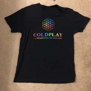 Coldplay A Head Full of Dreams Tour T-Shirt